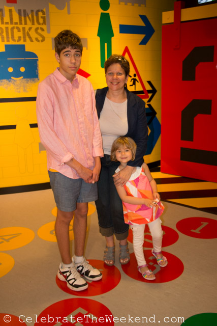 At the Lego playground