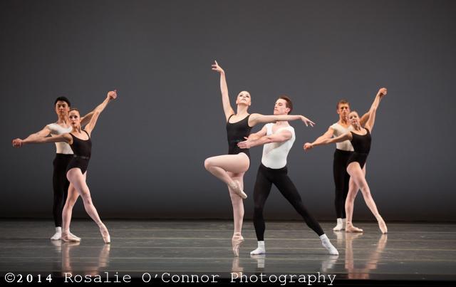 "Boston Ballet's production of George Balanchine's ""Episodes"", ©The George Balanchine Trust"