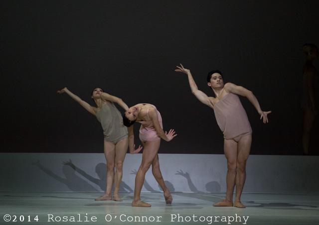 "[Boston Ballet dancers performing in Wayne McGregor's ""Chroma"", ©RosalieO'Connor]"
