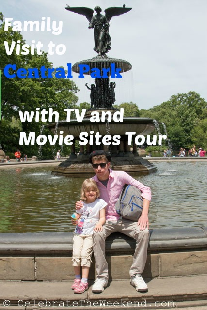 Family Tour of Central Park with TV amd Movie Sites Tour.