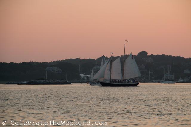 Family Sail in Newport Harbor, RI