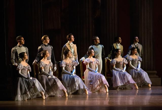 Boston Ballet. John Cranko's Onegin. Photo by Gene Schiavone