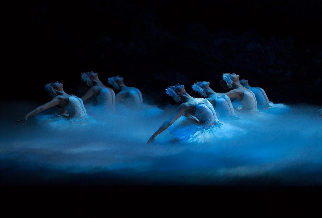 Boston Ballet Boston Ballet in Mikko Nissinen's Swan Lake; photo by Rosalie O'Connor, courtesy of Boston Ballet