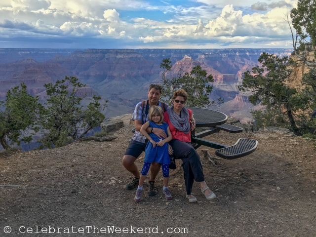 Teen's Visit to Grand Canyon on a Family Trip