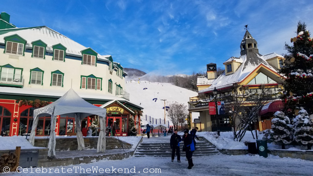 Why a Family winter weekend in Mont-Tremblant, Canada is worth an extra driving time from Boston