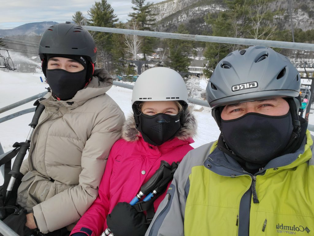 Family Ski weekend in North Conway New Hampshire