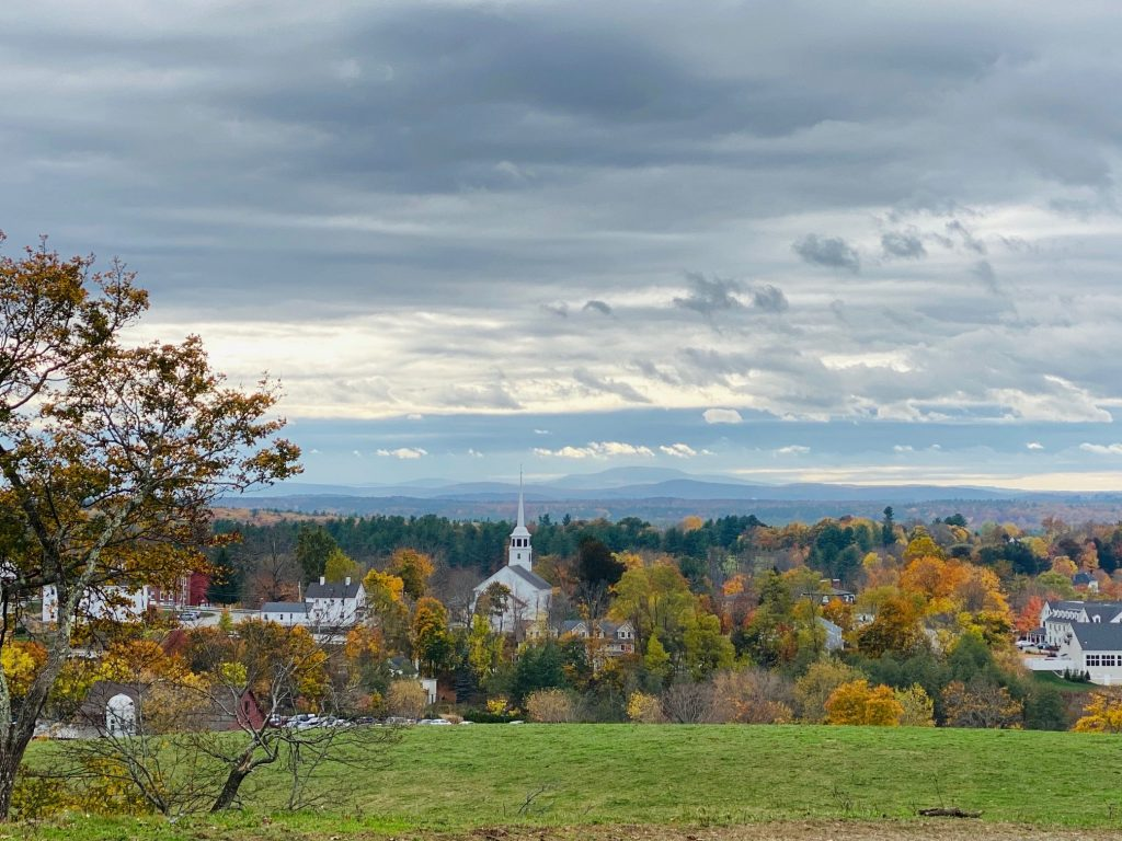 Fall Foliage near Boston